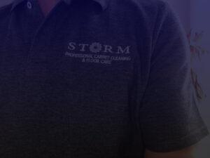 storm floor care t-shirt