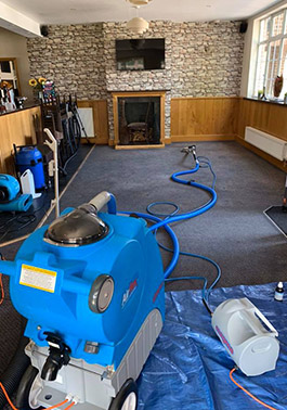 Storm Floor Care cleaning