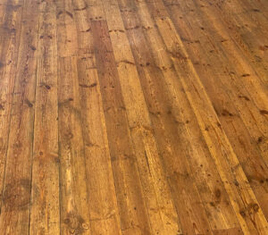 wooden floor clean