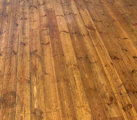 wooden floor clean