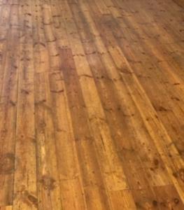 Wood floor care